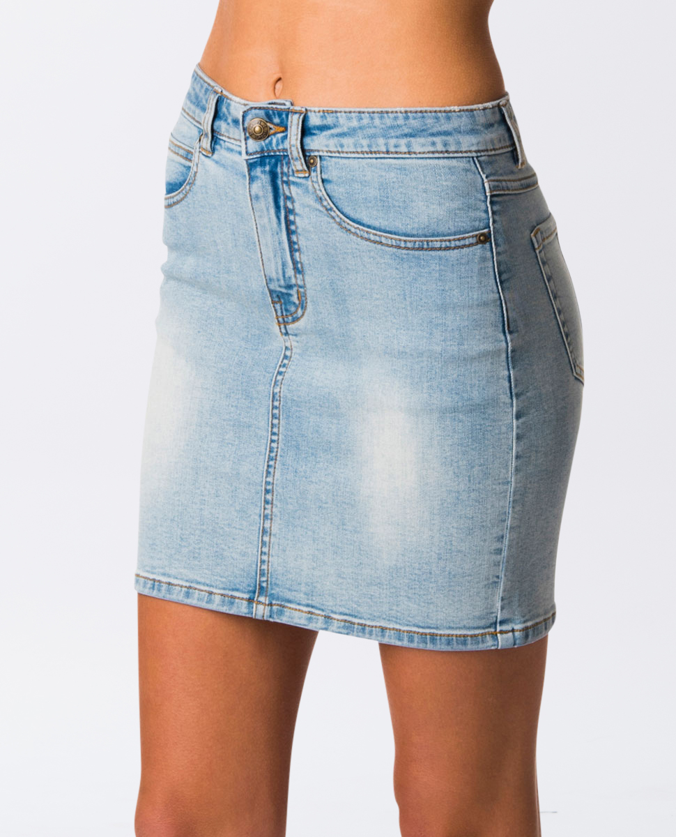 Classic III Denim Skirt