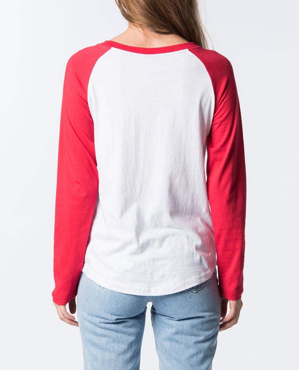 Return Raglan Long Sleeve T-Shirt