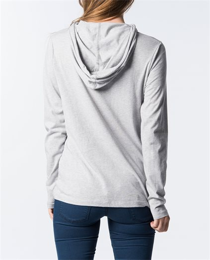 Perry Hooded Long Sleeve T-Shirt