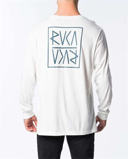 Flipped RVCA Long Sleeve T-Shirt