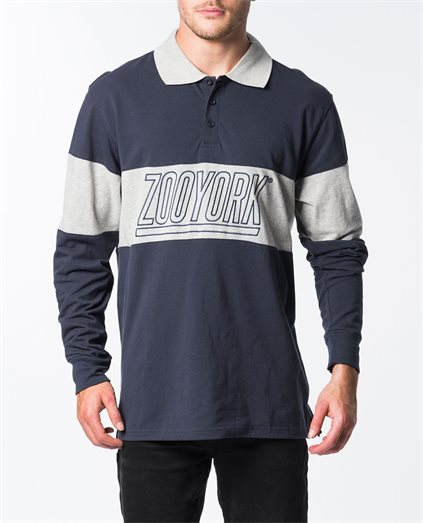 Elmhurst Long Sleeve Polo