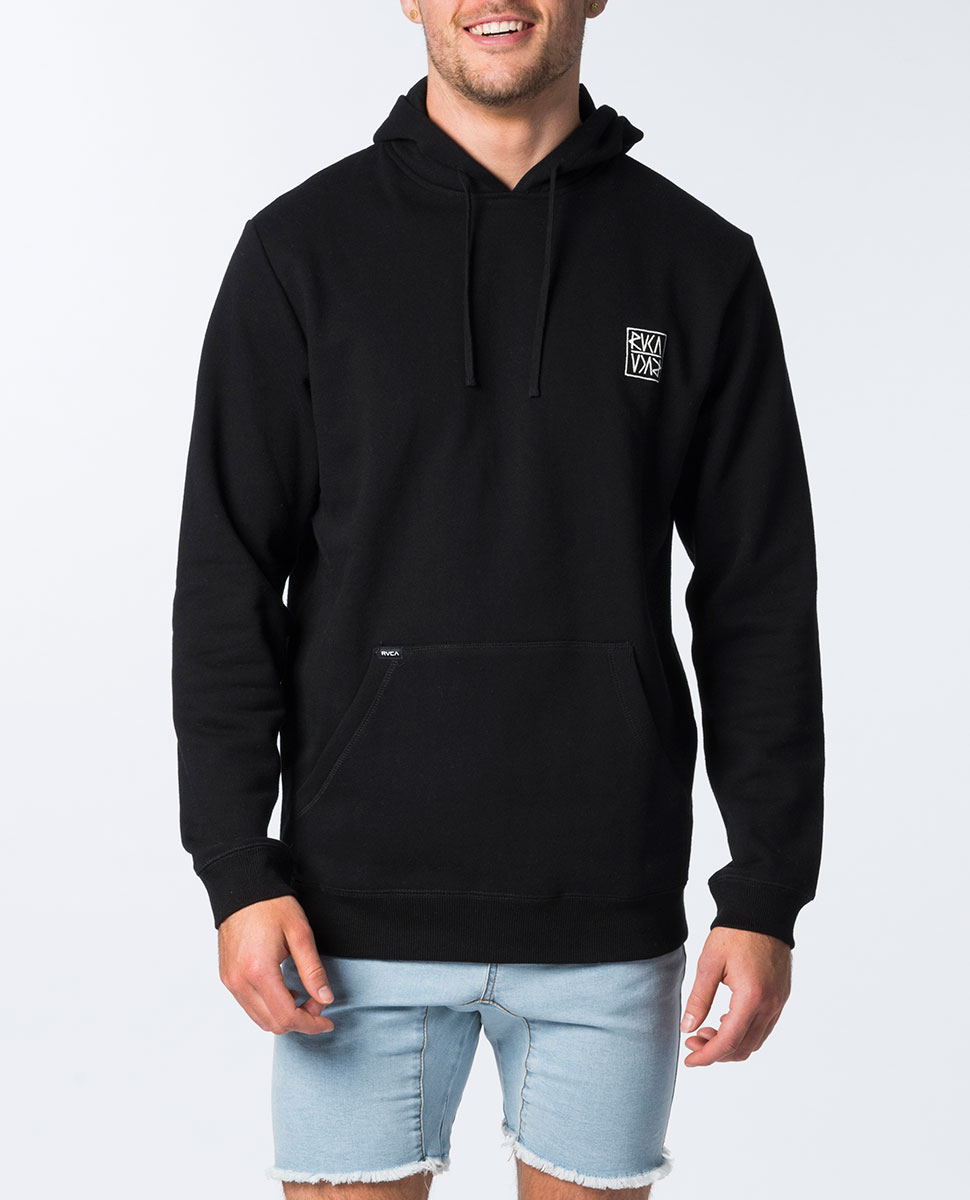 Flipped Pullover Hood
