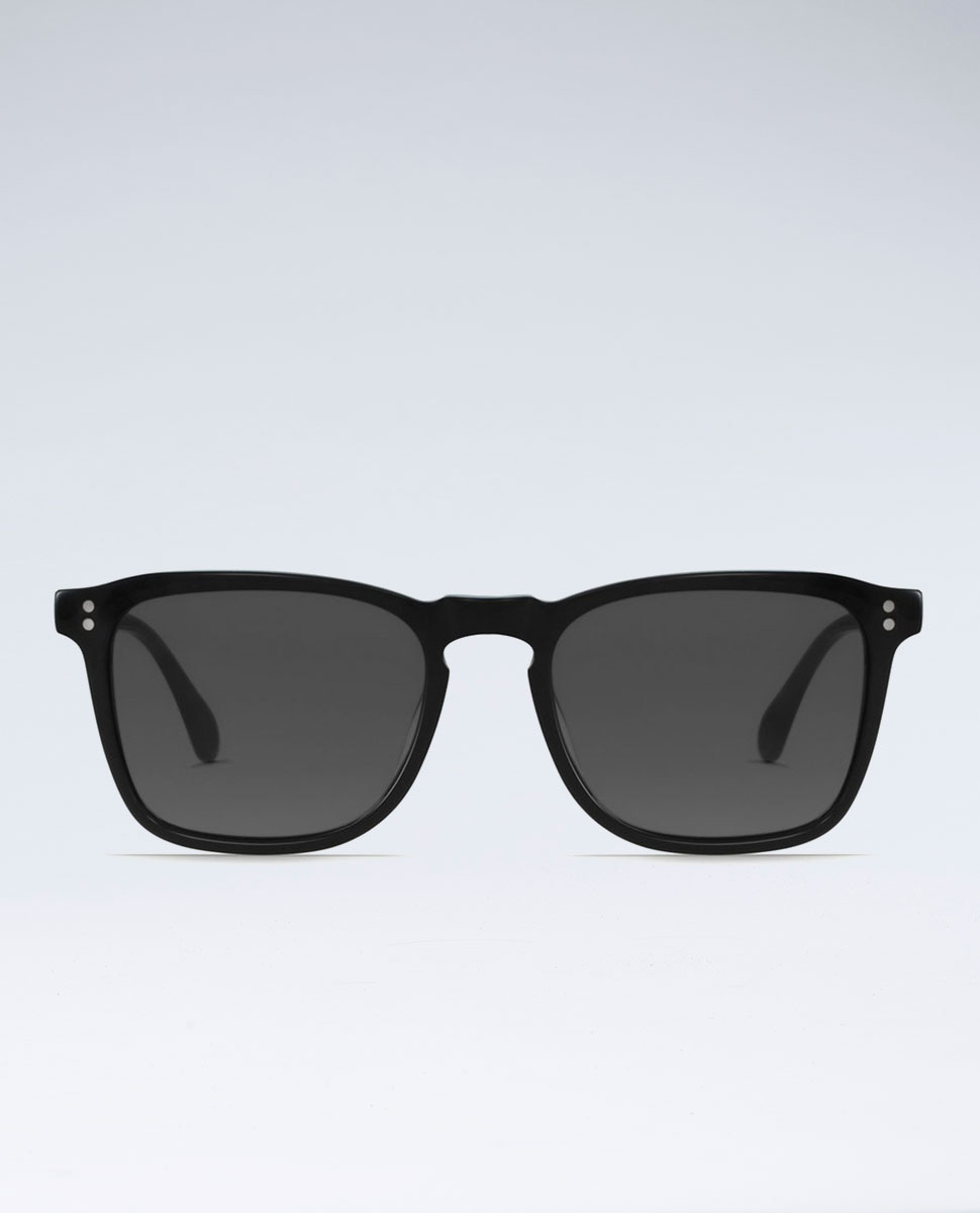 Wiley Black Smoke Sunglasses