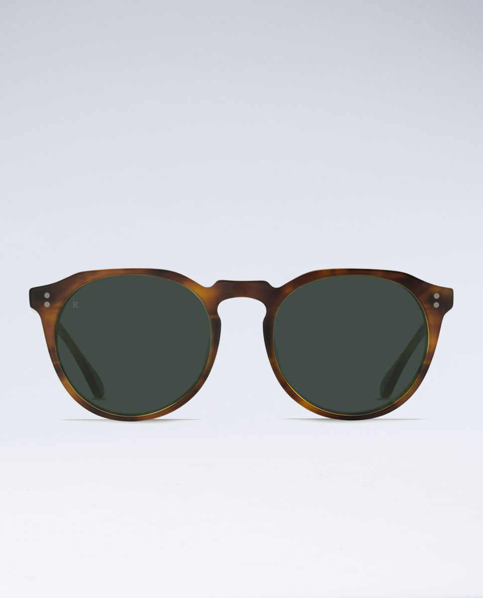 Remmy Split Finish Rootbeer Sunglasses