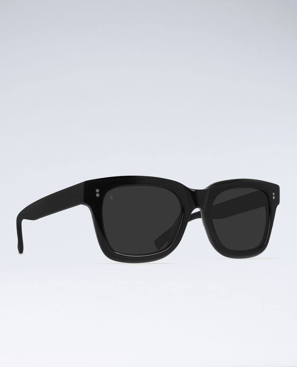 Raen Gilman Black Smoke Sunglasses