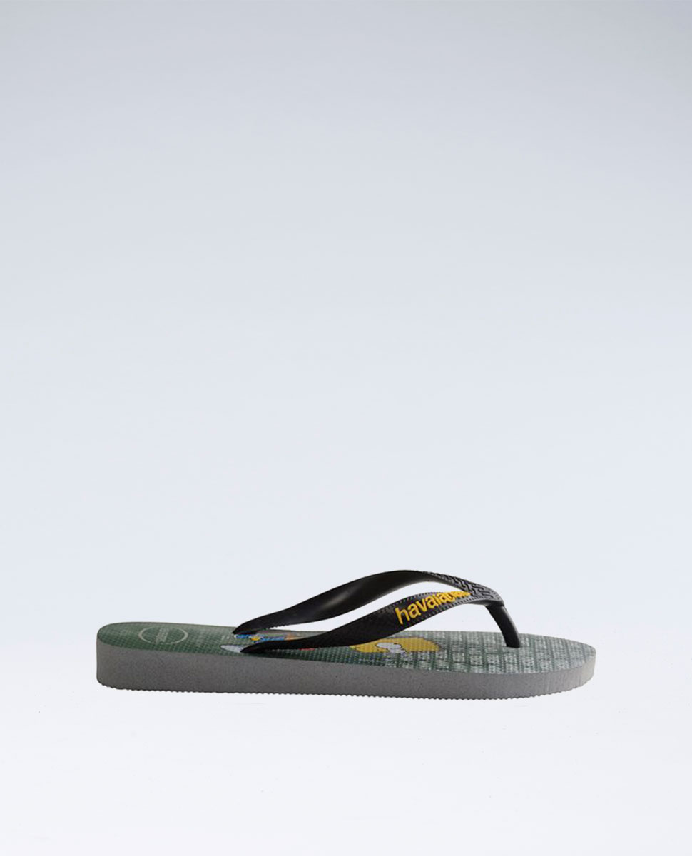 Simpsons Ice Grey Thongs - Boys
