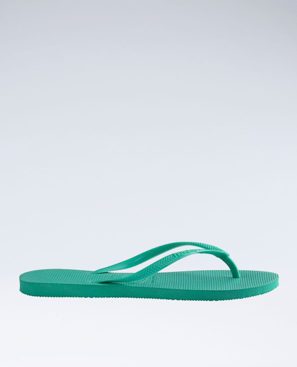 Slim Basic Mint Green/Mint Green Thongs