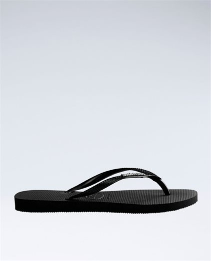Slim Metal Logo Thongs