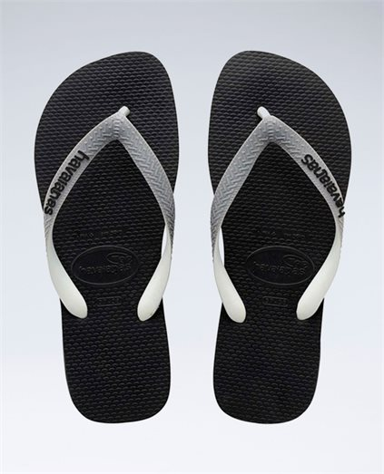 Top Mix Black/Steel Grey Thongs