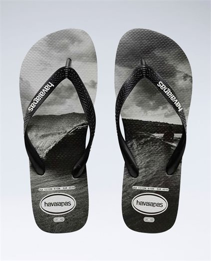 Photoprint Black/White Thongs