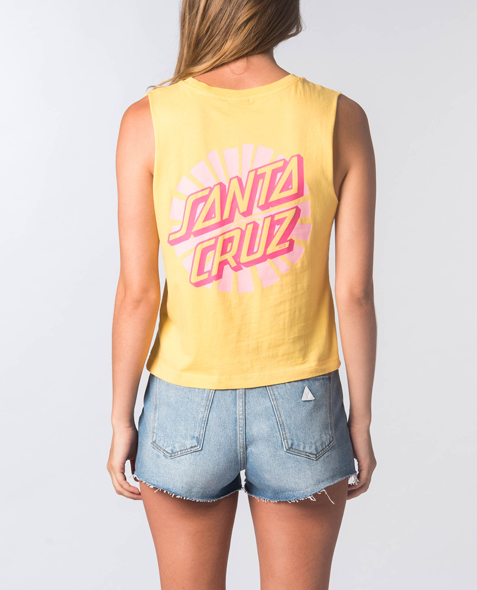 Rays Crop Muscle Top