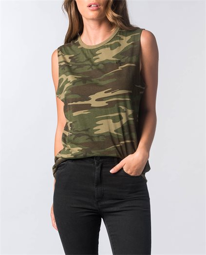 Camo Muscle Top