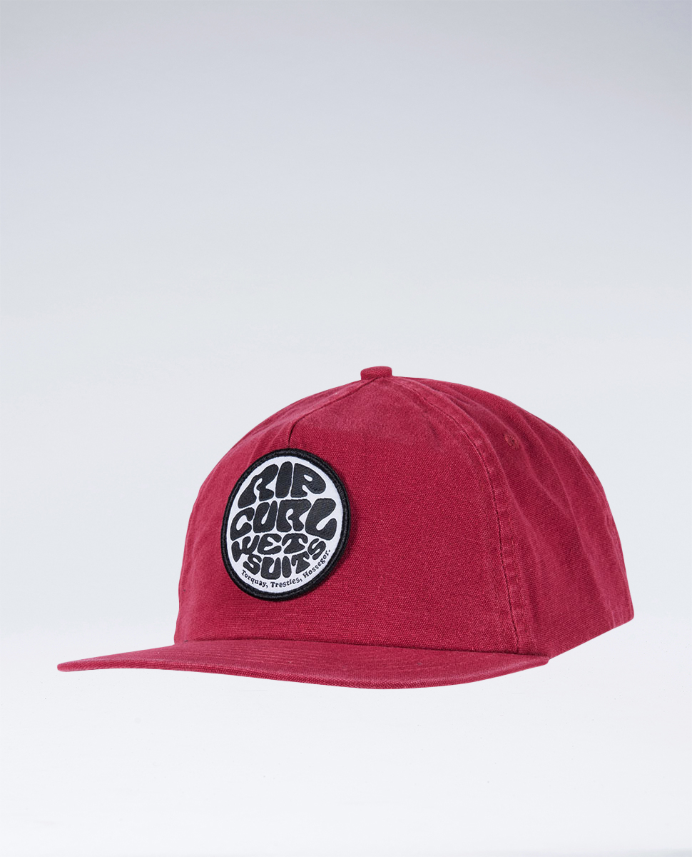Washed Wettie Snap Back Cap