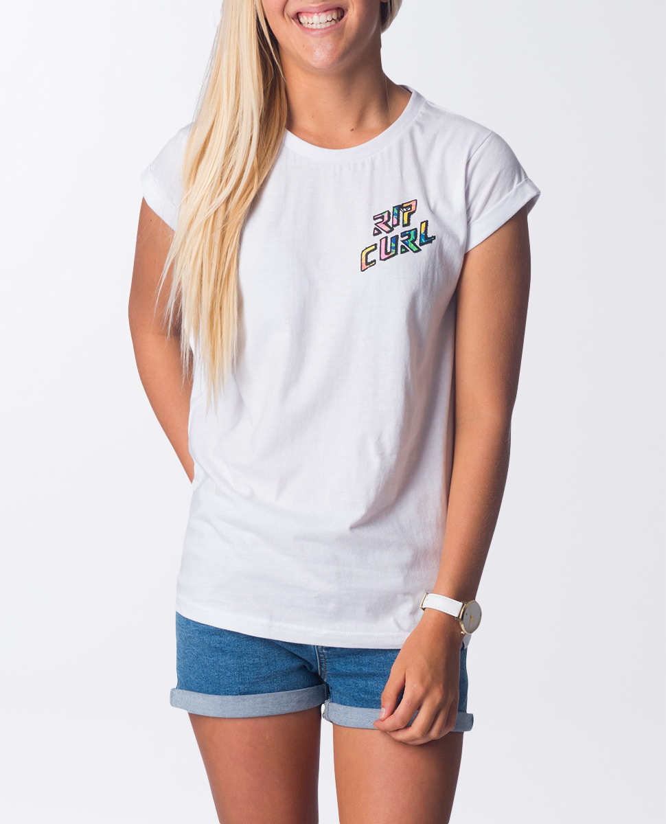 Hot Tropics Tee - Girls