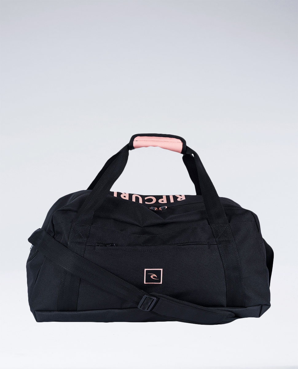 Mid Duffle Block Bag