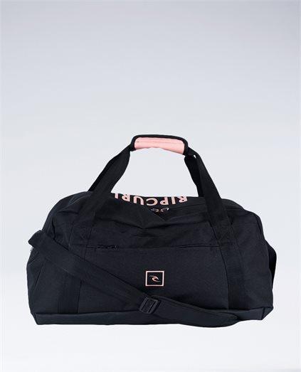 Mid Duffle Block Bag