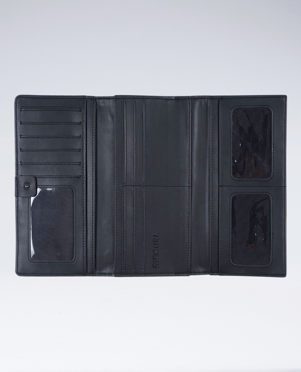 Yamba RFID Leather Cheque Book Wallet