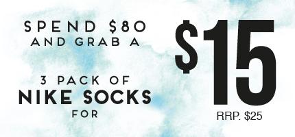 Nike Sock promo Mega Kids