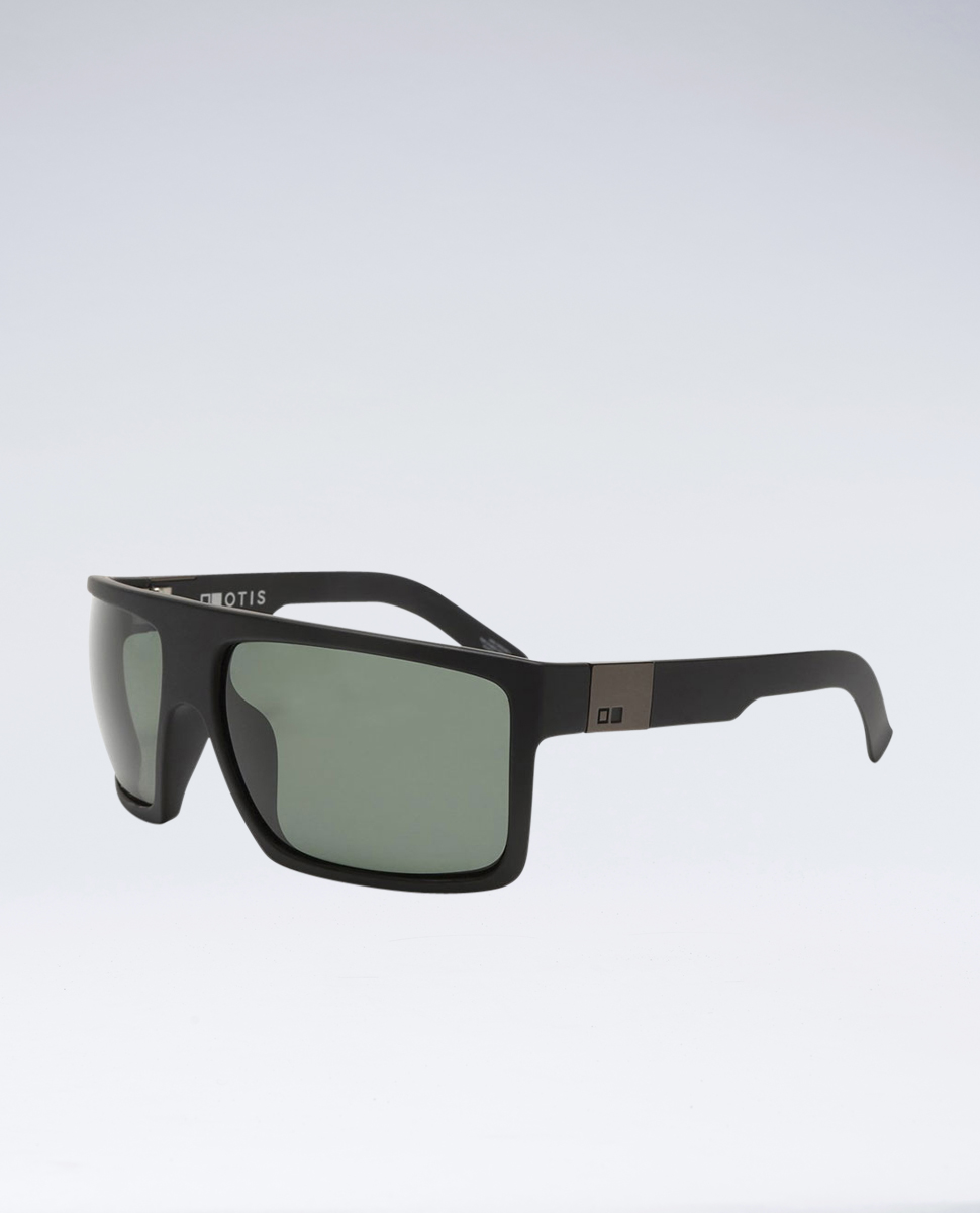 Capitol Matte Black Polarised Sunglasses