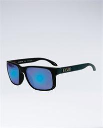 Rush Revo Black Neon Stripe Sunglasses