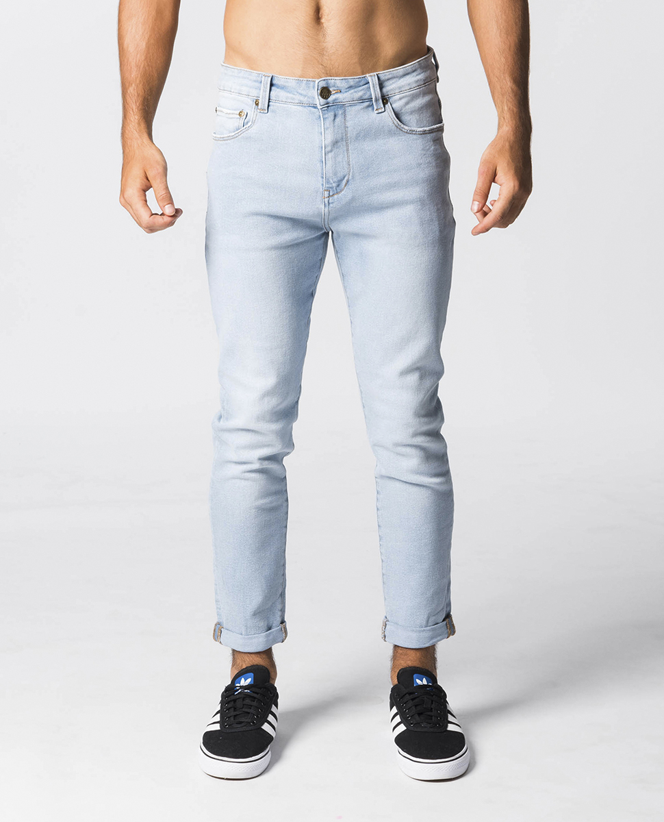 Pipes Crop Relaxed Skinny Jean