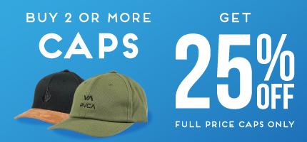 MEGA KIDS BUY 2 CAPS GET 25% OFF