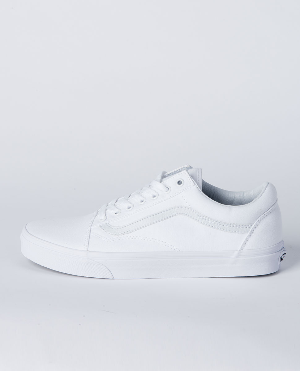 Old Skool White Shoe