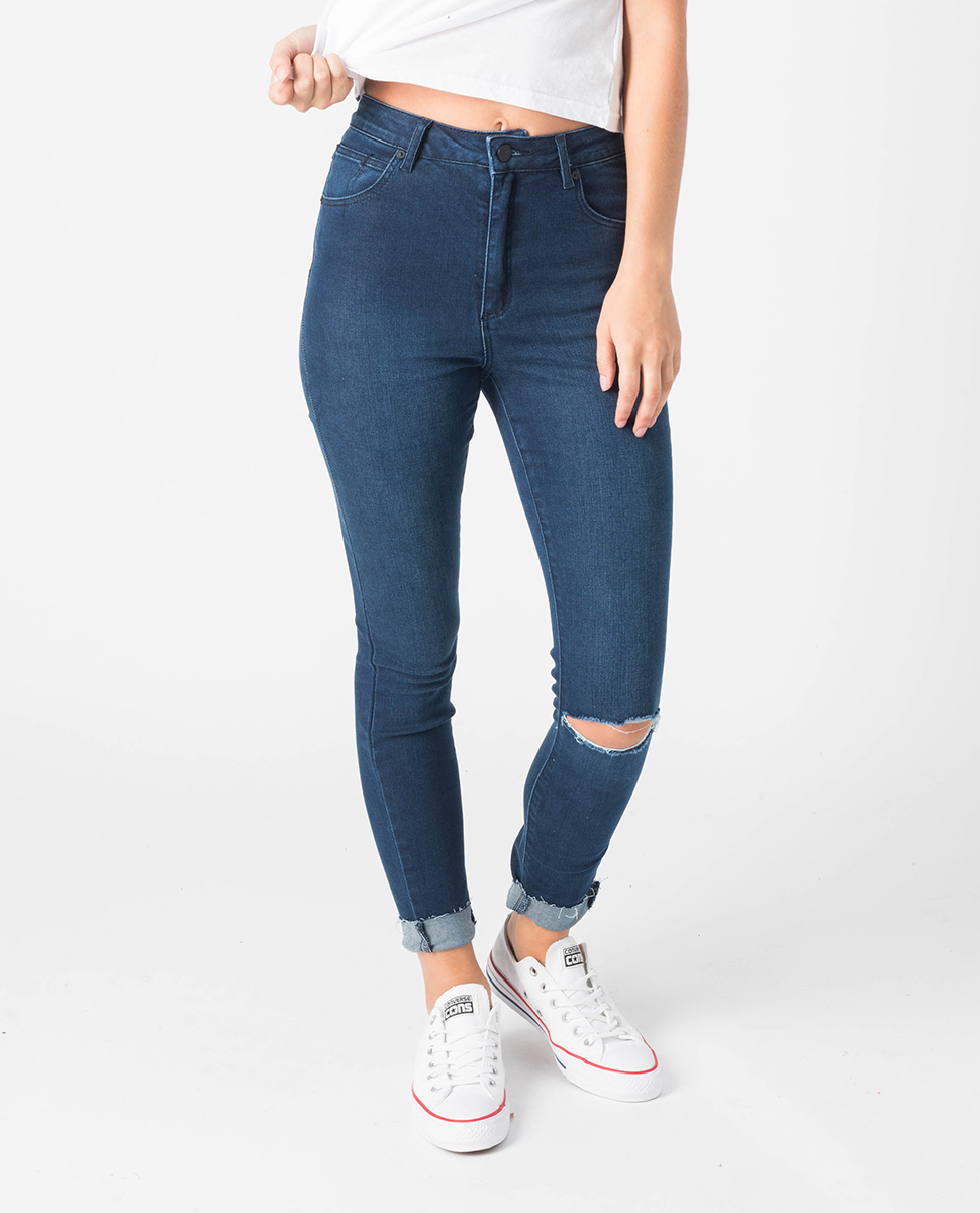 A High Skinny Ankle Basher Jean