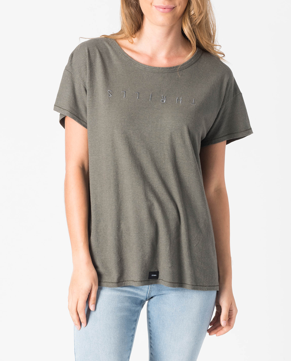 Classic Embro Hemp T-Shirt