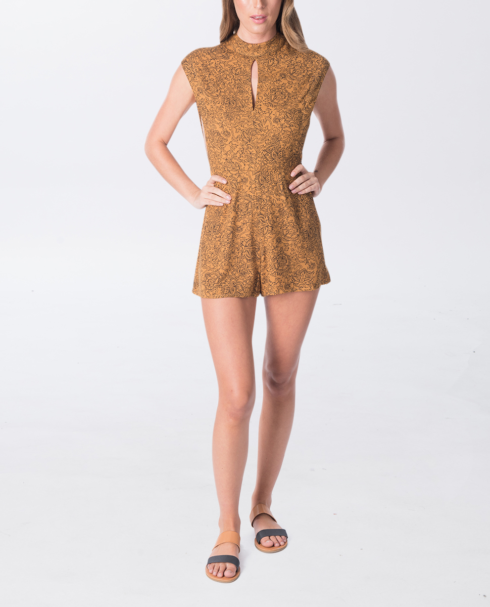 Golden Haze Playsuit