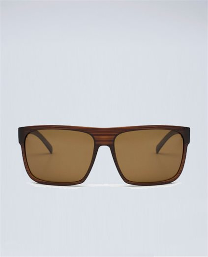 After Dark Wood Matte Brown Sunglasses