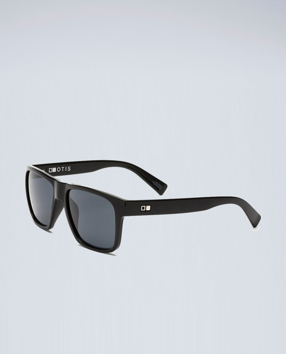 Life On Mars Matte Black Grey Sunglasses