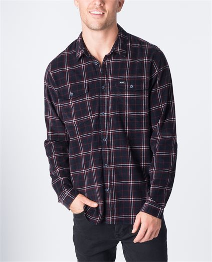 Tacked Long Sleeve Shirt