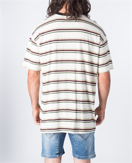 Boxed Stripe Tee