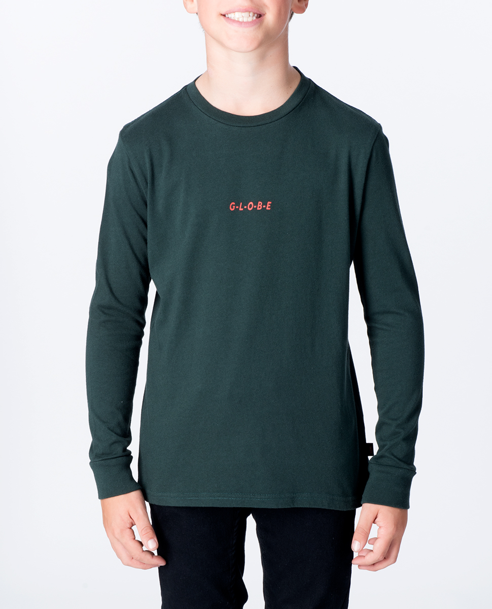 Cript Long Sleeve Tee - Boys