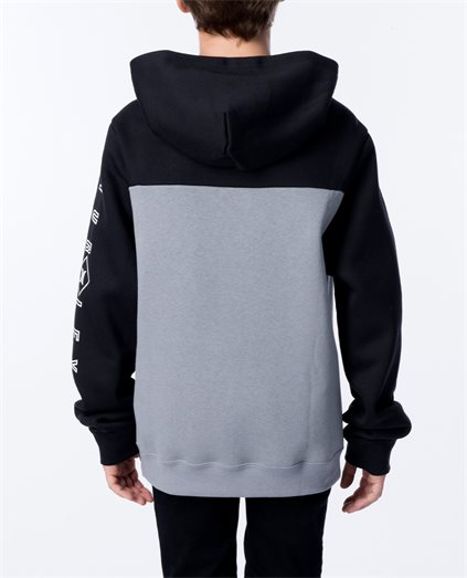Boys Surf Check Hood