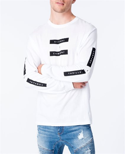 Segment Long Sleeve Tee