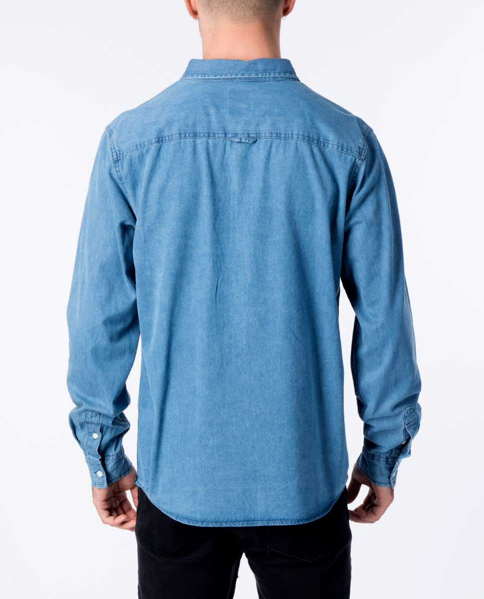 The General Long Sleeve Denim Shirt
