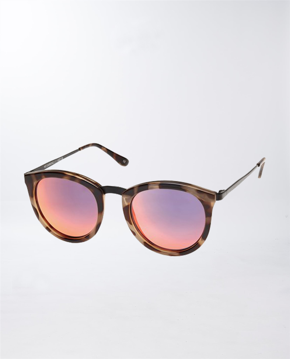 No Smirking Volcanic Tort Sunglasses