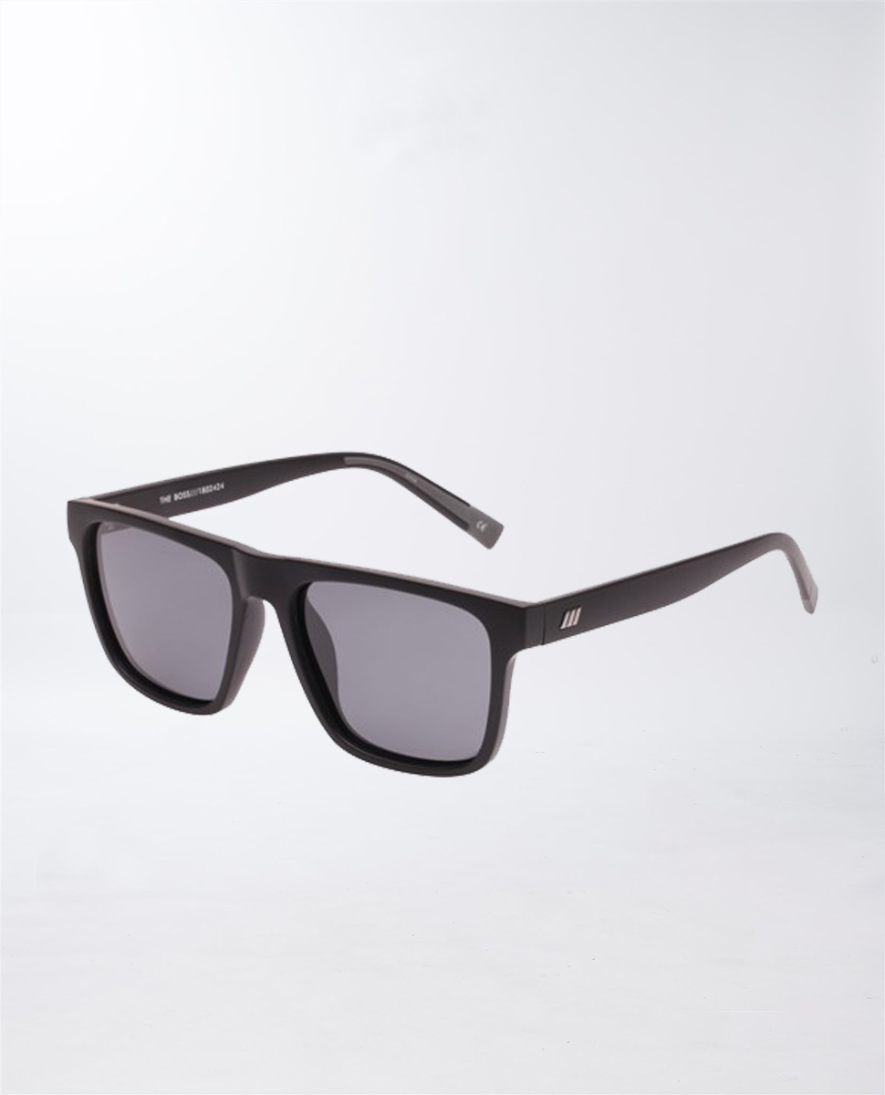 The Boss Matte Black Sunglasses