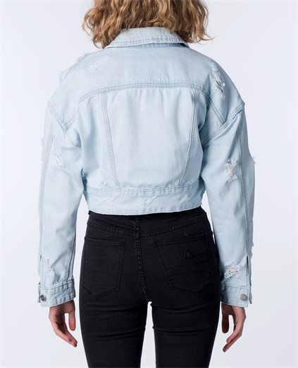 Rhi Rhi Crop Denim Jacket
