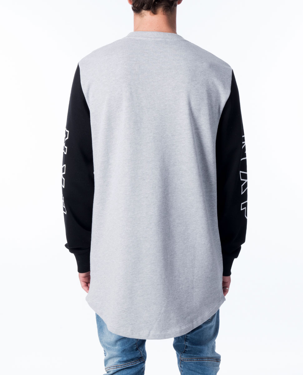 Ultimate Choice Curved Hem Sweater