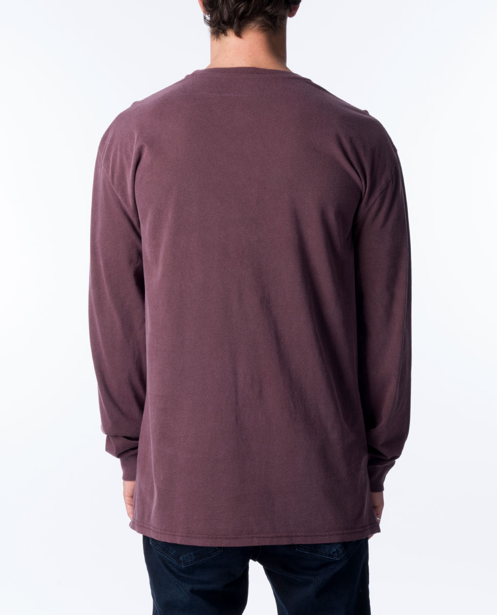 Pigment Basic Long Sleeve Tee