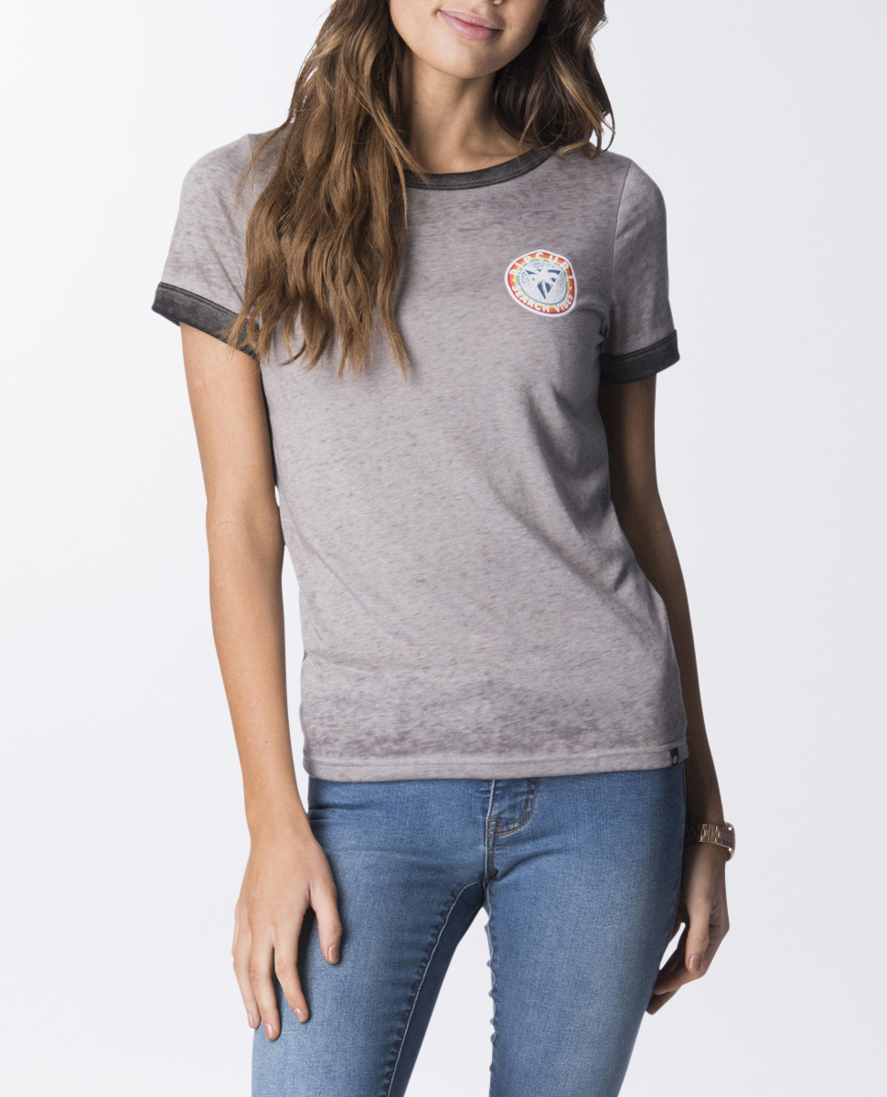 Search Vibes Ringer Tee