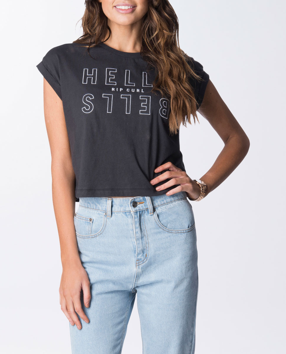 Hells Bells Crop T-Shirt
