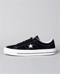One Star Black and White Shoe