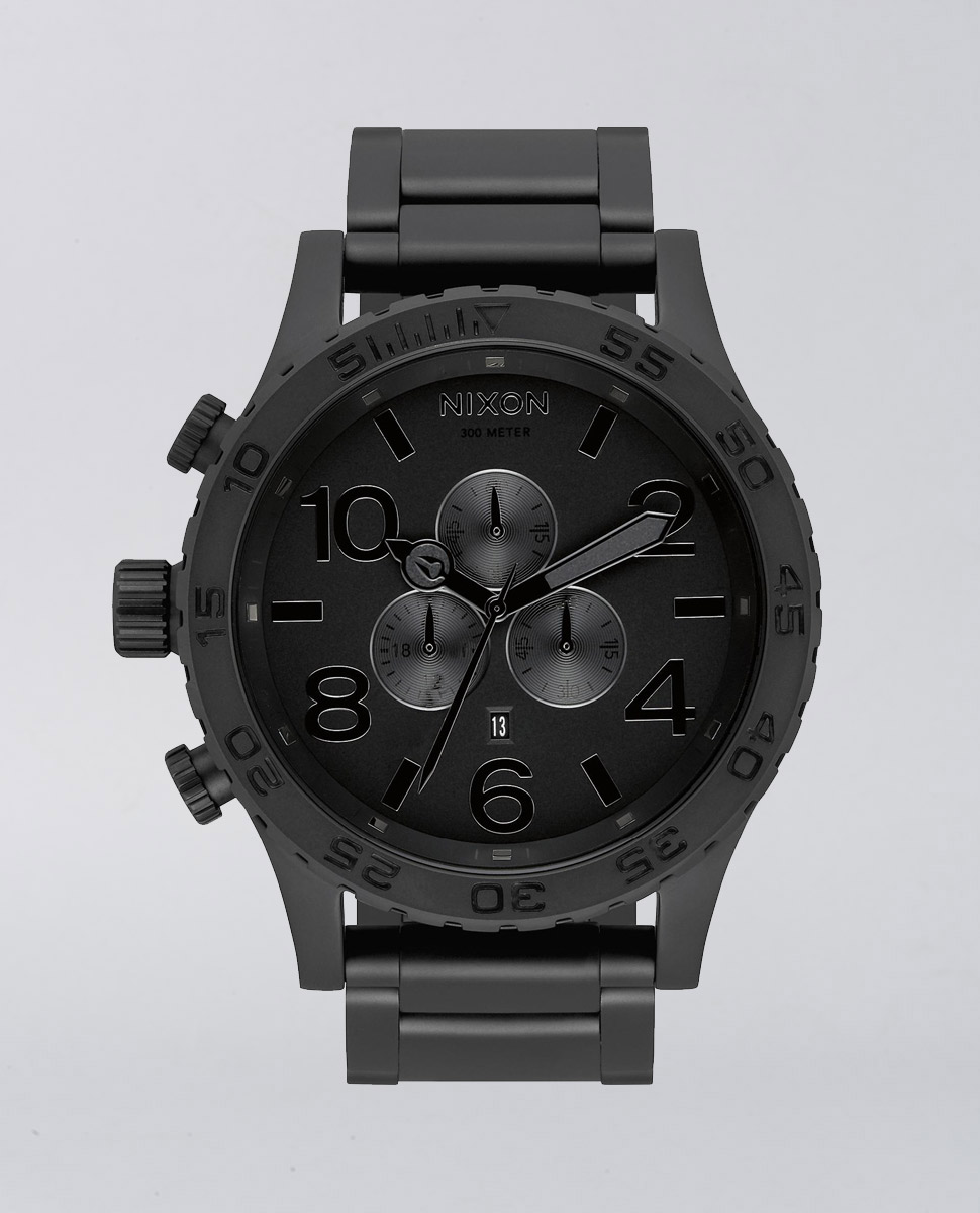 51-30 Chrono Matte Black Watch