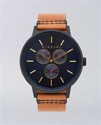 Detroit Multi Midnight Leather Watch