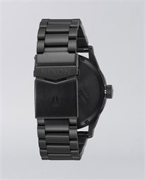 The Sentry Stainless Steel All Black Watch