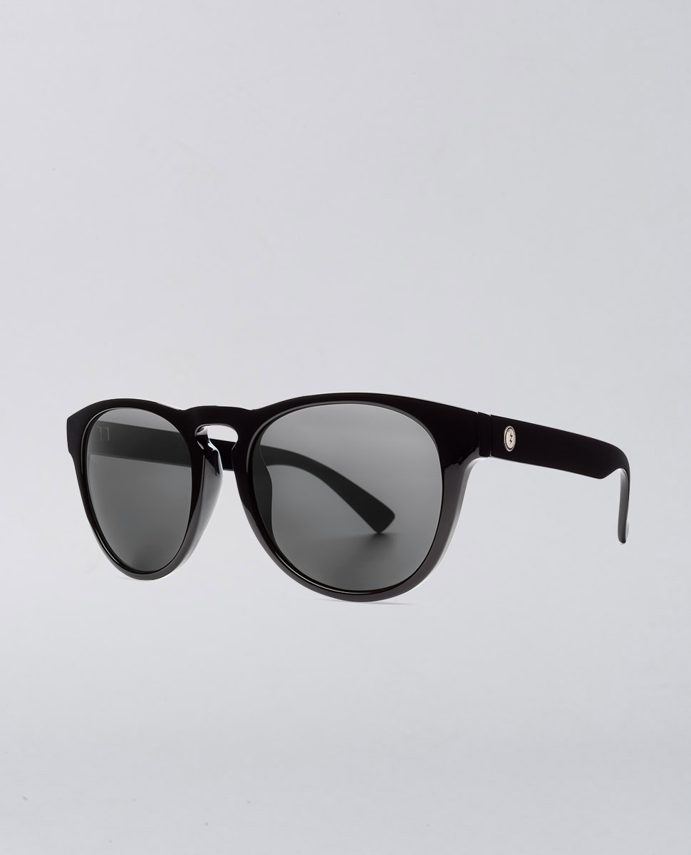 Nashville XL Gloss Black Sunglasses
